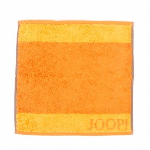 JOOP! Seifenlappen - Graphic Doubleface - Cognac - 30x30cm