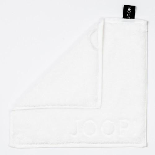 JOOP! Seifenlappen - Uni -Weiß - 30x30cm