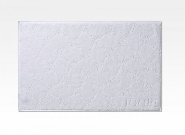 JOOP! Badematte Uni Cornflower Weiß 50x80cm
