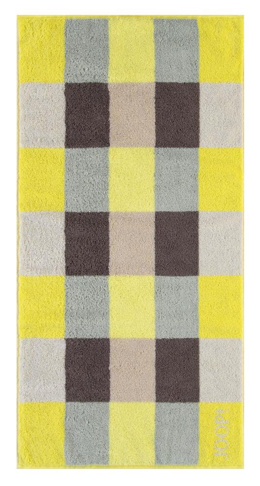 joop duschtuch plaza squares limone 80x150cm aus. Black Bedroom Furniture Sets. Home Design Ideas