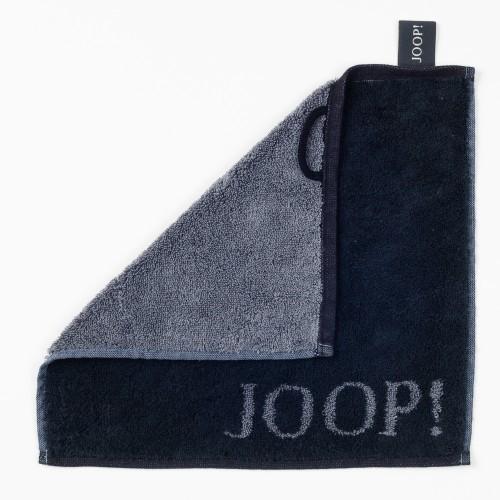 JOOP! Seifenlappen - Classic Doubleface - Schwarz - 30x30cm