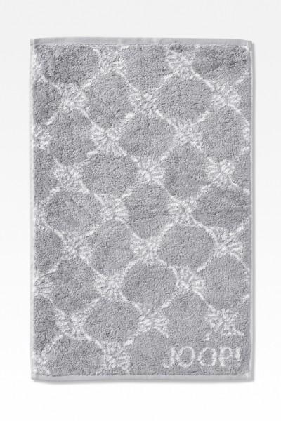 JOOP! Gästetuch - Classic Cornflower - Silber - 30x50cm