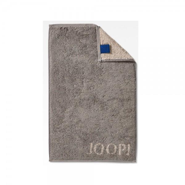JOOP! Gästetuch - Classic Doubleface - Graphit - 30x50cm